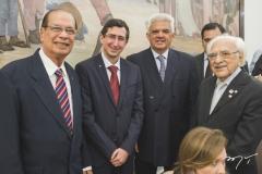 Luiz Roberto Barroso, Roberto Victor Ribeiro, Tales de Sá Cavalcante e João Lemos