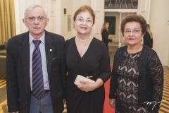 Manassés Fonteles, Graça Soares e Isaura Soares