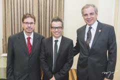 Mauro Gurgel, Fabiano do Santos e Pablo Manye
