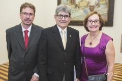 Mauro Gurgel, José Augusto Bezerra e Regina Fiúza