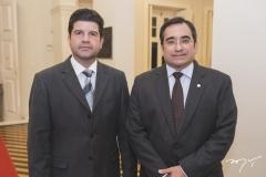 Maximiniano Chaves Filho e Jackson Cruz