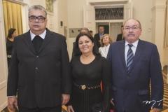 Monsenhor São Jorge Corrêa, Lurdênia Lima e José Mara Lima