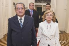 Osvaldino Vasconcelos e Socorro Aragão