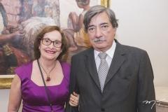 Regina Fiúza e Fred Benevides