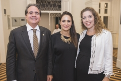 Ricardo Bacelar, Manoela Bacelar e Ticiana Queiroz