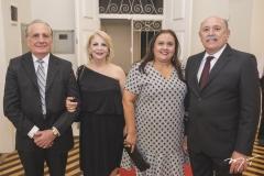 Valber Vieira, Maria Luísa, Mônica Feitosa e Élvio Feitosa