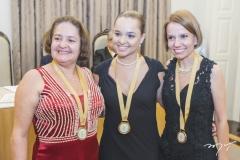 Verônica Barbazan, Márcia Sucupira e Carolina Maria Campos