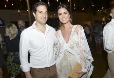 Abraham Cavalcanti e Nicole Pinheiro