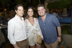 Abraham Cavalcanti e Nicole Pinheiro e Renato Pinheiro