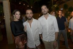 Carol Celico, Yan Acioli e Fernando Bento