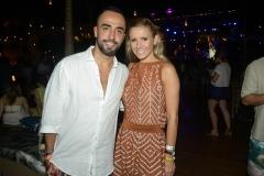 Ian Accioly e Monica Salgado