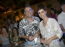 Paulo Borges e Lilian Pacce
