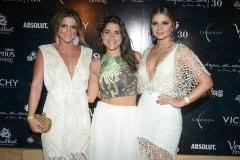 Rebeca Thomaz, Priscila Fantin e Thassia Naves