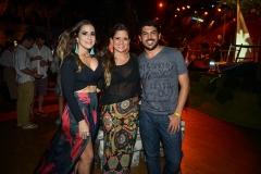Vanessa Melo, Beda Cesar e Tiago Onofre