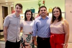 Andre Albquerque, Morgana Morais, Rodrigo Castelo Branco e Carol Damiani