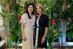 Lia Linhares e Maira Silva