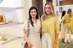 Lia Linhares e Renata Ciriaco