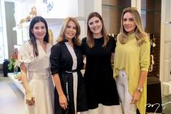 Lia Linhares, Maira Silva,Karla Pereira e Renata Ciriaco