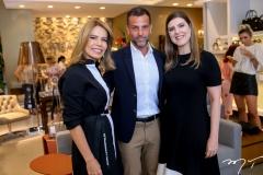Maira Silva,Alexandre Birman e Karla Pereira