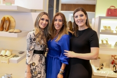 Monique Sales, Raquel Machado e Karla Pereira
