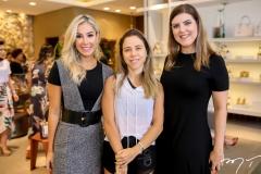 Priscila Silva, Mirela Rocha e Karla Pereira