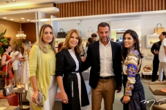 Renata Ciriaco, Maira Silva, Alexandre Birman e Nathalia Nogueira