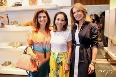 Rilka Bezerra, Marcia Tavora e Maira Silva