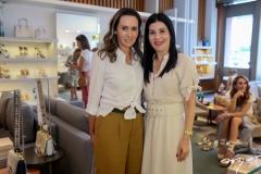 Roberta Nogueira e Lia Linhares