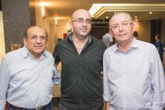 Antônio Cruz, Lincoln Nogueira e Antônio José Melo