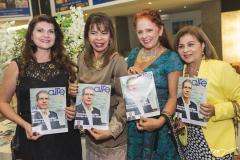 Cândida Portela, Selma Cabral, Fátima Duarte e Silvana Frota
