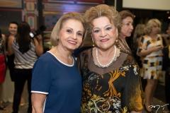 Cely Girão e Yolanda Araújo