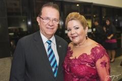 José Valdo e Marta Peixe