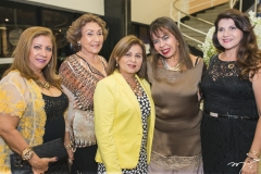 Nilza Parra, Stefania Pinheiro, Silvana Frota, Selma Cabral e Cândida Portela