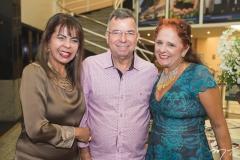 Selma Cabral, Juvenal Duarte e Fátima Duarte