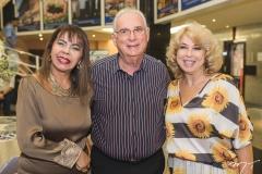 Selma Cabral, Wilson Mancin e Lourdes Borin