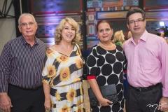 Wilson Mancin, Lourdes Borin, Yara Salema e Leonardo Salema