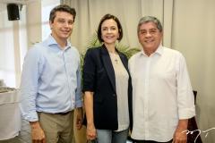 Andre Siqueira, Miriam Pereira e Sampaio Filho