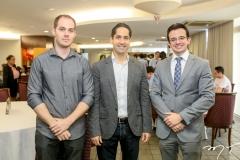 Daniel Thomaz, Rodrigo Rodrigues e Rafael Albuquerque