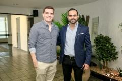 Lucas Mourão e Erik Guanabara