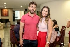 Pedro Rocha e Marcela Abreu