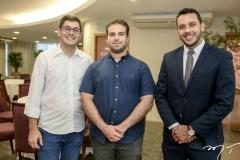 Romoaldo Neves, Paulo Salim e Valmir Alves