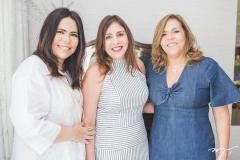 Andréa Rios, Cristiane Farias e Ailza Ventura