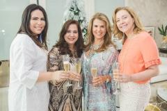 Andréa Rios, Martinha Assunção, Alexandra Pinto e Andréa Delfino