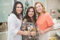 Andréa Rios, Martinha Assunção e Andréa Delfino
