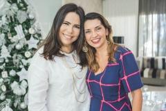 Andréa Rios e Márcia Travessoni