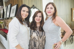 Andréa Rios, Martinha Assunção e Cristiane Farias