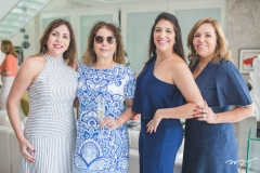 Cristiane Farias, Cláudia Gradvohl, Elisa Oliveira e Ailza Ventura