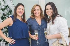 Elisa Oliveira, Ailza Ventura e Andréa Rios