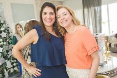 Elisa Oliveira e Andréa Delfino