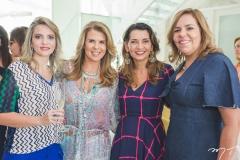 Michelle Aragão, Alexandra Pinto, Márcia Travesoni e Ailza Ventura